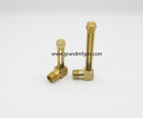 油液位铜管油标 10