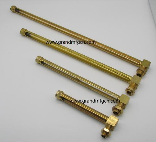 油液位铜管油标 11