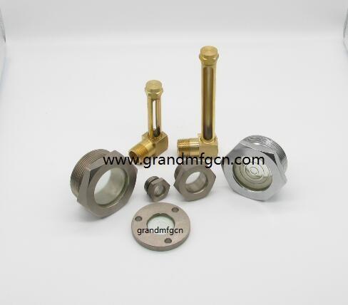 油液位铜管油标 15