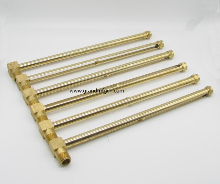 brass elbow oil level gauges 1/2