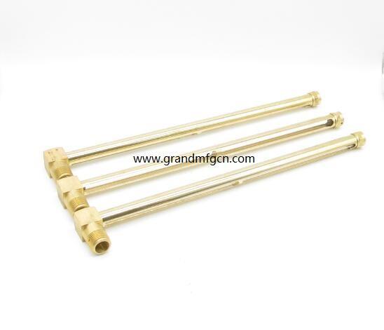 brass check oil level sight gauge 1/4
