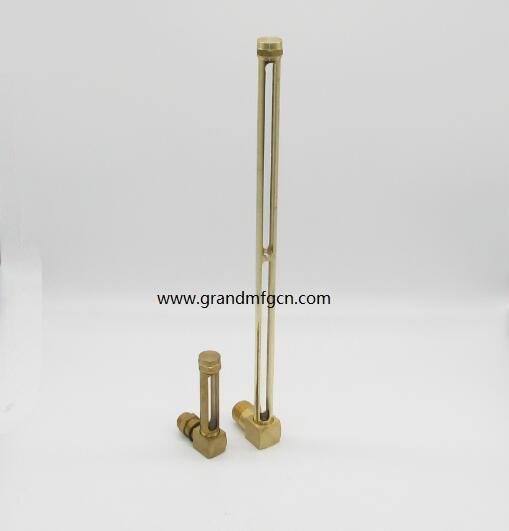 brass OEM oil level sight gauges