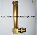 brass oil level gauge NPT G thread 1/2