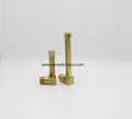 tubular brass oil level sight gauges NPT 1/4