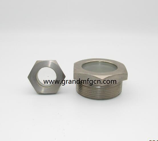 fused oil level sight glass windows BSP 1 1/2 inch