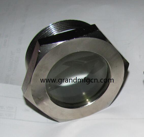 steel fused oil level sight glasses M36