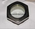 fused steel bull eye oil sight windows