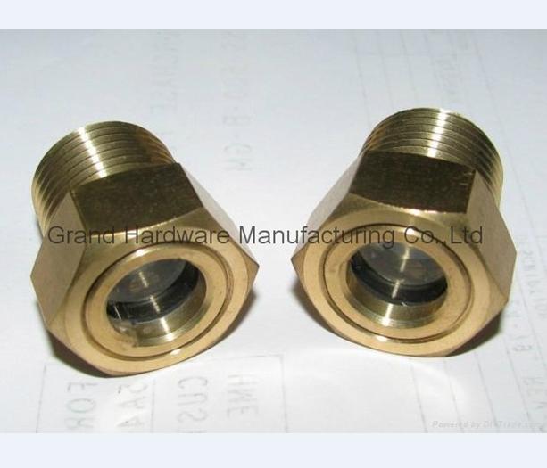 brass oil sight glass NPT 3/4 INCH
