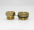 forged brass oil level observation sight glass