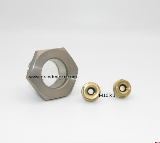 黃銅液油鏡各式定製油鏡減速機壓縮機油鏡油塞 18
