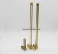 高品质黄铜铜管油液位器G1/4