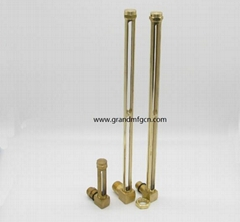 """高品質黃銅銅管油液位器G1/4"""" 1/2"""""""