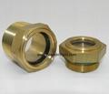 brass oil sight glass
