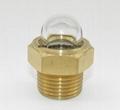 dome oil sight glass