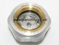 M16x1.5 M22x1.5 male thread aluminum oil level sight glass gauge indicators