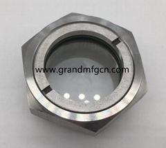 2寸 SS316 不锈钢液油视镜液位观察镜窥视镜