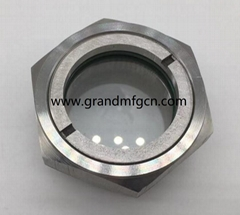 2 inch stainless steel observation sight glass for pipe fitting
