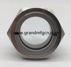 """2"""" NPT Stainless Steel 304 Bulls Eye Oil level sight glass"""