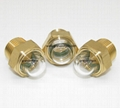 dome oil level sight glass