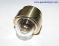 domed female brass sight glass
