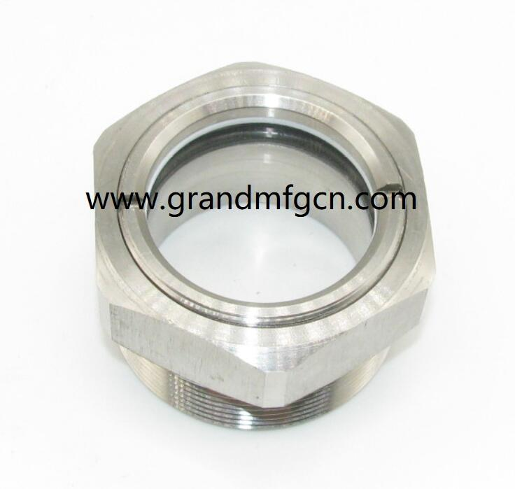 oil extractor peep hole sight glass with high pressure