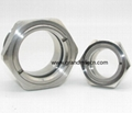 BHO extractor closed loop SS304 sanitary observation sight glass