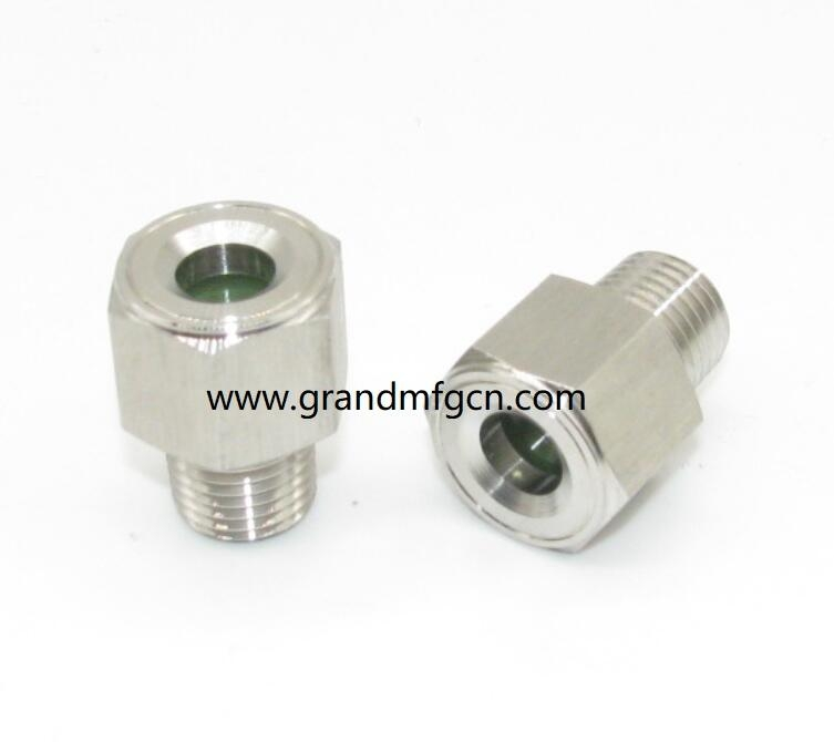 high pressure ss304 oil level sight glass