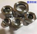 gas turbine stainless steel 304 oil level sight glass borosilicate glass custom