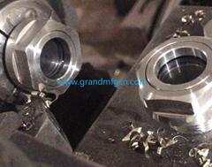 3/8 NPT 1 1/2 inch thread SS304 316 oil level sight glasses