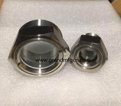 """2"""" NPT Bulls Eye BHO extractor W/Solvent tank Stainless Steel 304 sight glass"""