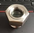 NPT螺纹不锈钢316液油视镜管道观察镜器皿观察镜 6