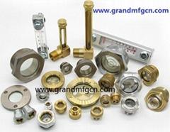 G1寸六角黃銅油鏡BSP螺紋和公制螺紋均有銷售