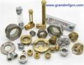 3D BullsEye Brass Oil Sight Glass GM-HDN12 GM-HDG38