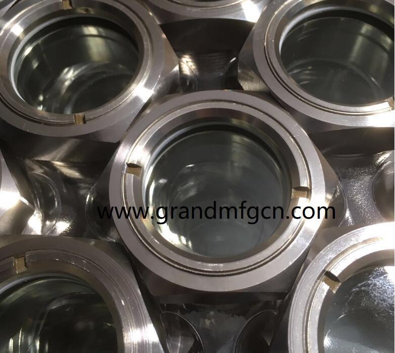 SS304 316 不锈钢反应器提取器视镜视液镜观察窗 3