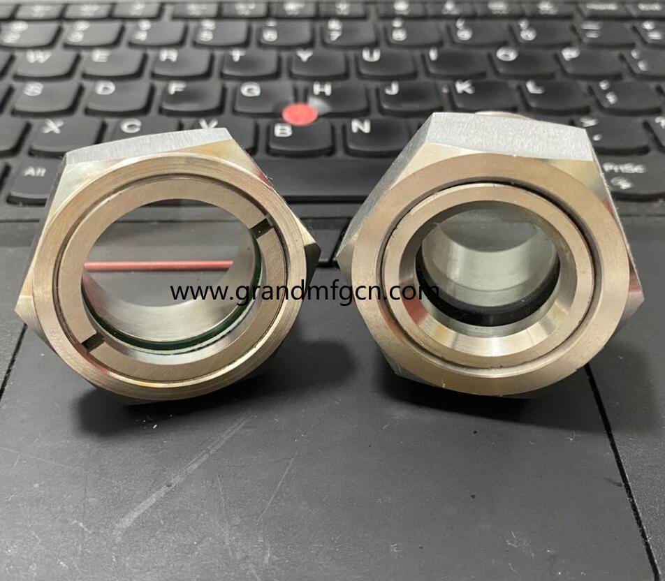 oil level sight gauge