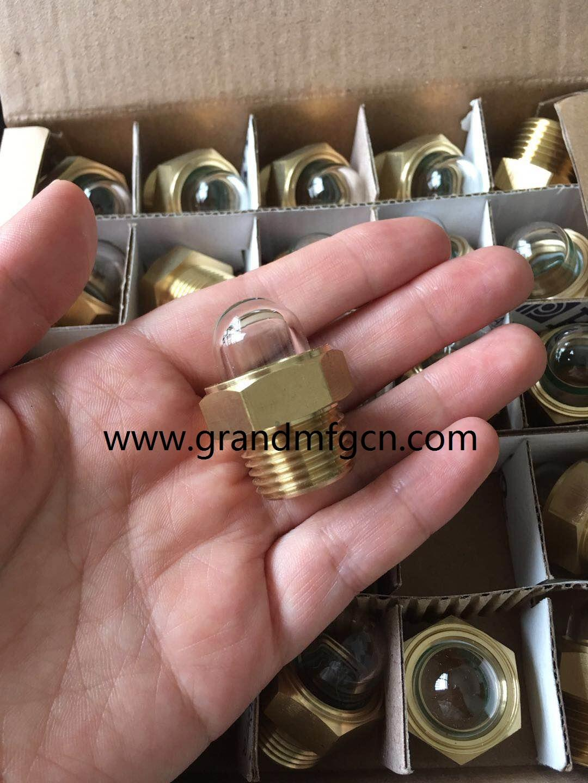 半球形玻璃油镜油窗油位计液位器可定制GM-HDM20 6