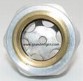 压缩机配件定制铝油镜不锈钢油镜