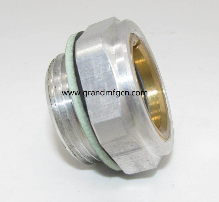 aluminum oil level sight glass