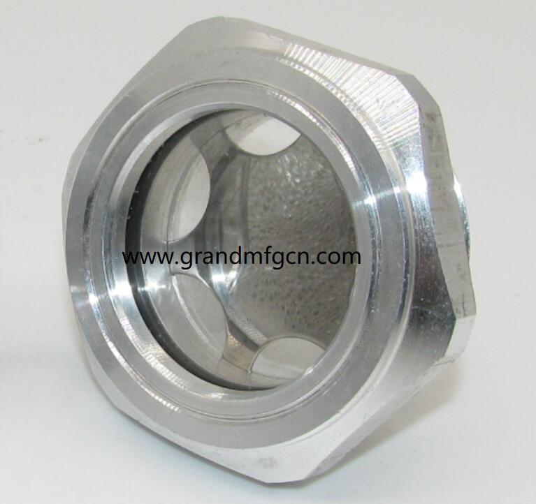压缩机配件定制铝油镜不锈钢油镜黄铜油镜液位器油位器 9