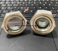 全不锈钢液油视镜NPT螺纹容器观察镜油位器