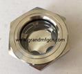 全不锈钢液油视镜NPT螺纹容器观察镜油位器 3
