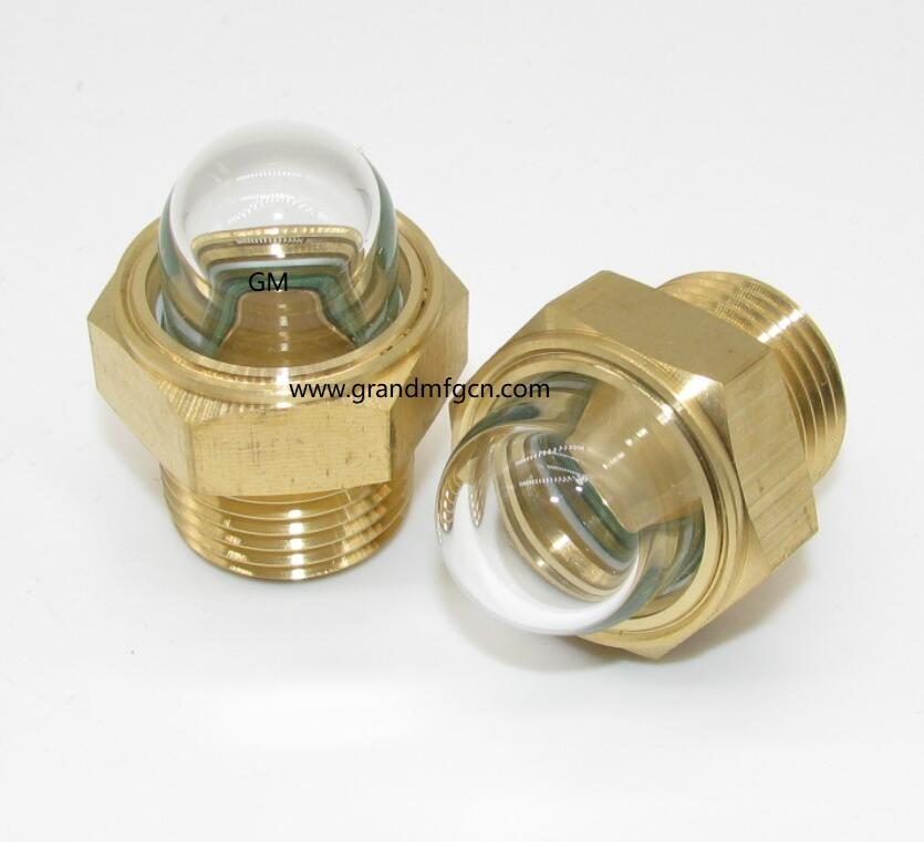 3D Bullseye Oil Sight Glass G1/2 inch oil sight glasses 3