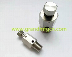 stainless steel 316 drain plugs NPT1/4