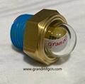 YZ易泽NPT1/2半球形油窗观察镜凸顶油镜GM-HDN12 5