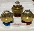 YZ易澤NPT1/2半球形油窗觀察鏡凸頂油鏡GM-HDN12