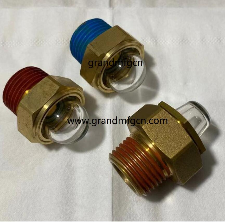 DOMED OIL LEVEL SIGHT GLASS