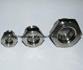 304 Stainless Steel Gasketed Window Sights NPT Thread