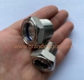 NPT1/2 3/4 INCH STAINLESS STEEL OIL SIGHT GLASS SUPPLIED PIPE VIEW PORT SIGHTS 3