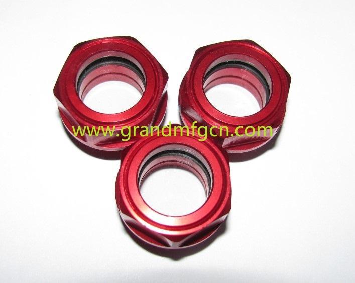 空壓機鋁制油液視鏡油鏡M20x1.5 1