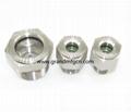 空壓機鋁制油液視鏡油鏡M20x1.5 13